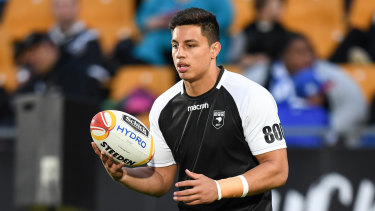 Raiders second-rower Joe Tapine is in negotiations for a four-year extension.