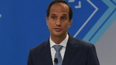 AMP chief executive Francesco De Ferrari.
