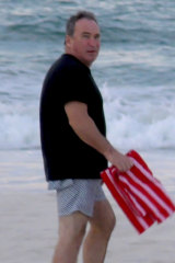 Peter Fox in Palm Beach on the Gold Coast.