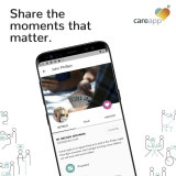 The CareApp interface is designed to share updates between older Australians in care, their support workers and family.