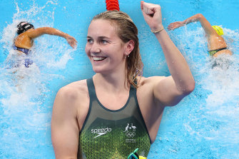 AriarneTitmus and Katie Ledecky did battle in a memorable 400m freestyle final in Tokyo.