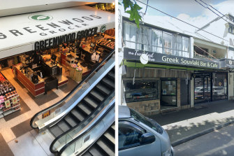 Venue alerts: Greenwood Grocer at North Sydney and The Twisted Olive at Redfern.