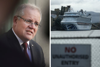 Prime Minister Scott Morrison says his government is co-operating with an inquiry into the spread of COVID-19 from the Ruby Princess.