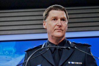 Chief Commissioner Shane Patton said police have had to balance resources.