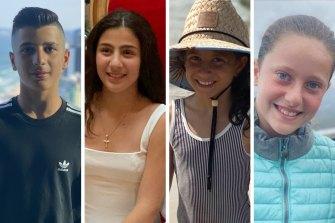 Antony, Angelina dan Sienna Abdallah, dan sepupu mereka Veronique Sakr, tewas dalam kecelakaan itu.