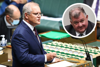 """Speaking in question time on Wednesday, Prime Minister Scott Morrison said his views """"do not align"""" with those of Liberal backbencher Craig Kelly."""