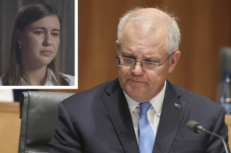 Prime Minister Scott Morrison says he should have been told about the allegations made by Brittany Higgins.