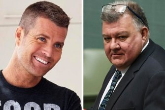 Pete Evans and MP Craig Kelly have both been removed from Facebook for posting unproven coronavirus cures