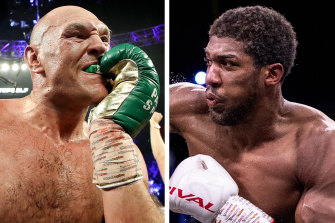 Tyson Fury and Anthony Joshua will fight later this year.