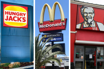 Hungry Jack's, McDonald's and KFC may close dining rooms across the country, but keep drive-thrus open.