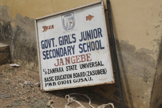 The Government Girls' Junior Secondary School in Jangebe, where the attack took place.
