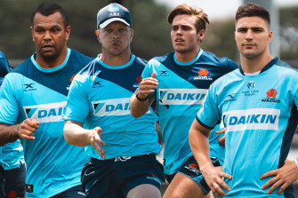 Kurtley Beale, Mack Mason, Will Harrison, and Jack Maddocks could all line-up for the Waratahs at No.10 this season.