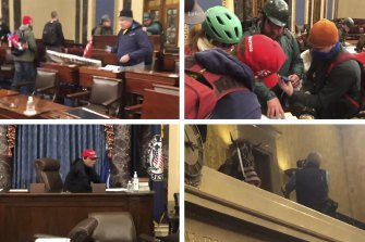 Veteran war correspondent Luke Mogelson followed the Capitol rioters inside the building and documented the chaos.