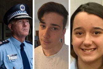 Mick Fuller says the force must take responsibility for the shooting deaths of Jack and Jennifer Edwards.