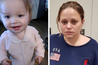 Police have issued an amber alert to find 15-month-old girl Peta Hodgson and her mother Sarah Hodgson.