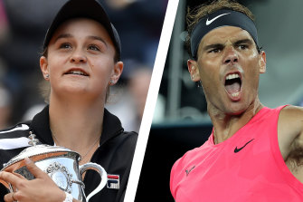 Ash Barty and Rafael Nadal have expressed concerns about travelling to the US Open.