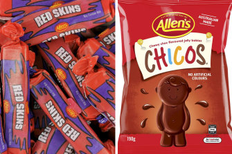Nestle has announced it will change the names of its 'Red Skins' and 'Chicos' lollies.