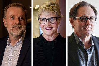 ABC new board directors: Peter Tonagh, Fiona Balfour and Mario D'Orazio.