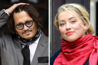 Johnny Depp, left, is seeking permission to appeal a London High Court ruling which upheld that he beat his ex-wife Amber Heard, right.