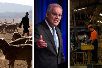 Prime Minister Scott Morrison has named farming and manufacturing as key sectors in the federal government's push to achieve net zero carbon emissions.