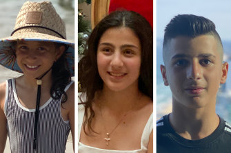 Sienna, Angelina and Antony Abdallah died in the collision on Saturday night.