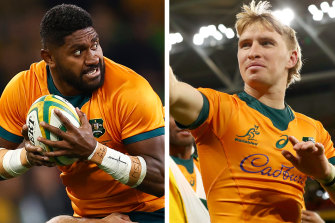 Isi Naisarani and Tate McDermott both make the cut in Paul Cully's starting XV for the Wallabies' Bledisloe Cup opener on Saturday week in Auckland.