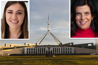 Former Liberal Party staffer Brittany Higgins and former federal Liberal MP Julia Banks have both raised issues with the political workplace culture.