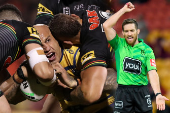 The 'six again' rule was introduced to reduce the impact of refereeing on NRL games but has actually empowered the whistleblowers further.