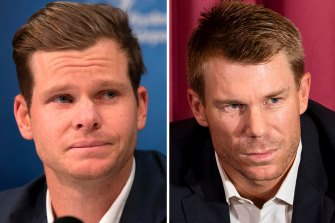Steve Smith and David Warner served 12-month bans for their roles in the Cape Town scandal.