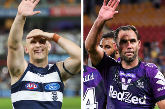 Gary Ablett jnr and Cameron Smith are both appearing in this weekend's grand finals.