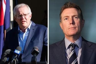 Prime Minister Scott Morrison announced Christian Porter's resignation from cabinet on Sunday.