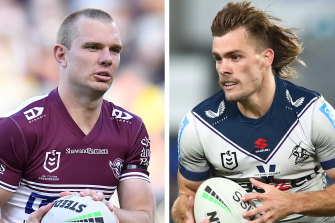 Friday's match between the Storm and Sea Eagles boasts two of the code's best fullbacks: Tom Trbojevic and Ryan Papenhuyzen.