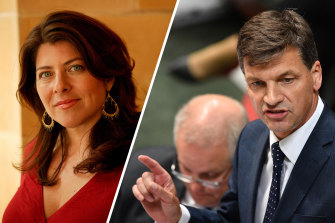 Naomi Wolf and Angus Taylor did not study at Oxford at the same time, despite Taylor's claims in his maiden speech.