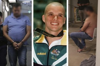 Scott Miller was once Australia's fastest butterfly swimmer. He is now accused of directing a major drug syndicate.