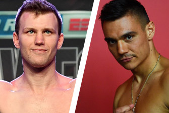 Jeff Horn and Tim Tszyu are scheduled to face each other on Wednesday.