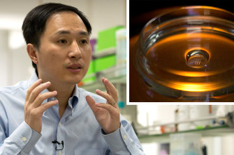 He Jiankui claims he helped make the world's first genetically edited babies: twin girls whose DNA he said he altered.