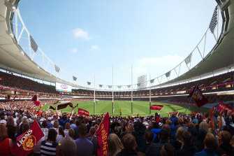 Premier Annastacia Palaszczuk has revealed a revamped Gabba as the proposed main stadium should Queensland host the 2032 Olympic and Paralympic Games.