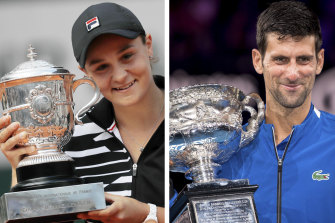 Ashleigh Barty and Novak Djokovic have formally been named top seed for Wimbledon.