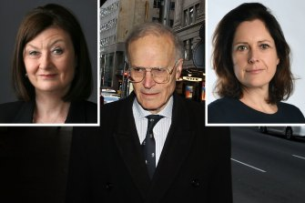 Kate McClymont and Jacqueline Maley won a Walkley Award for their investigation on Dyson Heydon.