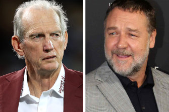 Russell Crowe tried to convince Wayne Bennett to join Souths in 2011.