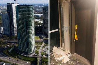 The cracks in Opal Tower led to debate about building construction standards.
