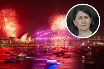 NSW Premier Glady Berejiklian is shutting down the Sydney harbour foreshore to large crowds of revellers this New Year's Eve.