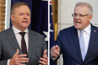 The contrasting response of the two major party leaders, Anthony Albanese and Scott Morrison, has been telling.