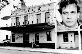 Mark Johnston went missing after a night out at The Bellevue Hotel in Paddington in 1986.