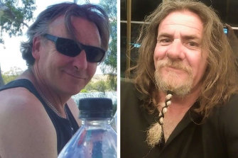 Derek Robinson and Tony Higgins have been at sea since last Thursday.