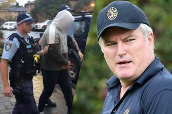 Stuart MacGill's de facto brother-in-law denied being in on the former Test cricketer's April kidnapping, telling an undercover police officer he was simply trying to help mediate a dispute over a drug transaction.