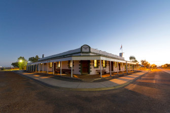 Birdsville Hotel general manager Ben Fullagar says it has received strong bookings from people travelling through the outback to avoid NSW.
