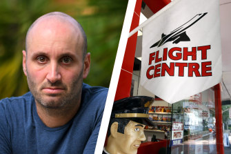 Adam Glezer was among disgruntled Flight Centre customers considering lodging a class action to get back their money.