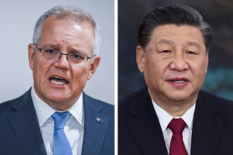 Prime Minister Scott Morrison has said several times he wants to resume talks with Chinese President Xi Jinping but has ruled out giving ground on a list of 14 grievances lodged by Chinese diplomats in November.