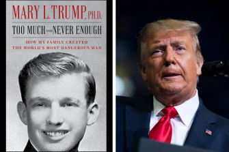 US President Donald Trump has tried to stop the publication of Mary Trump's book.